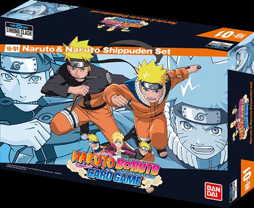 Naruto Shippuden Karten.Naruto Naruto Shippuden Set Nach Oben Chrono Clash System