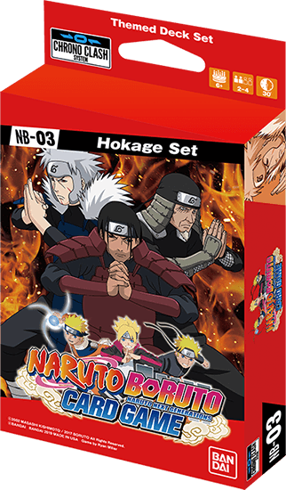 Themed Deck Set –Hokage Set-